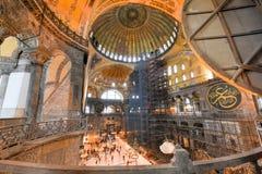 Hagia Sophia Mosque - Estambul, Turquía Foto de archivo libre de regalías