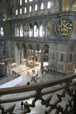 Hagia Sophia Mosque in Istanbul. Inside the Hagia Sophia mosque in Istanbul Turkey stock photos