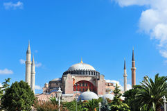 Hagia Sophia Mosque,Istanbul, Royalty Free Stock Photos