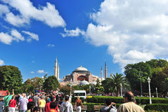 Hagia Sophia Mosque,Istanbul, Royalty Free Stock Photography