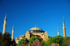 Hagia Sophia Mosque. In Istanbul Stock Photos