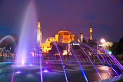 Hagia Sophia mosque, Istanbul, Turkey. Stock Images