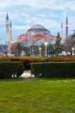 Hagia Sophia mosque, Istanbul, Turkey. Stock Photography