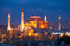Hagia Sophia mosque, Istanbul, Turkey. Stock Photos