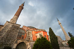 Hagia Sophia mosque, Istanbul, Turkey. Royalty Free Stock Image