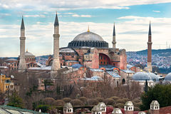 Hagia Sophia mosque, Istanbul, Turkey. Royalty Free Stock Photo