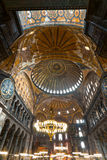 Hagia Sophia mosque, Istanbul, Turkey. Royalty Free Stock Images