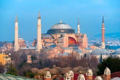 Hagia Sophia mosque, Istanbul, Turkey. Royalty Free Stock Image