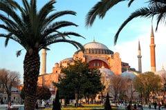 Hagia Sophia Mousq in Turkey Royalty Free Stock Image