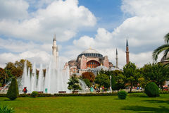 Hagia Sophia, museu em Istambul Imagem de Stock