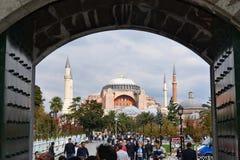 Hagia Sophia museum arkivbild