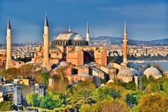 Hagia Sophia museum & x28; Ayasofya Muzesi& x29; i Istanbul Turkiet Arkivfoton