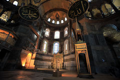 Hagia Sopia Church, Museum, Travel Istanbul Turkey Stock Photo