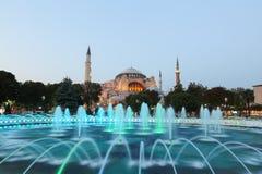 Hagia Sophia museum i Istanbul Royaltyfri Bild