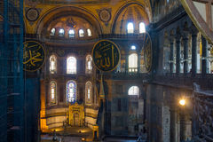 Hagia Sophia museum Royalty Free Stock Photos