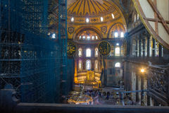 Hagia Sophia museum Royalty Free Stock Photography