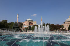Hagia Sophia museum in Istanbul City Royalty Free Stock Images