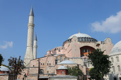 Hagia Sophia museum in Istanbul City Royalty Free Stock Photo