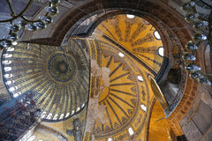 Hagia Sophia museum in Istanbul Royalty Free Stock Photography