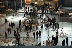 Hagia Sophia Museum, Istanbul, die Türkei stockbild