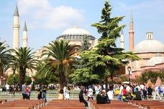 Hagia Sophia Museum in Istanbul lizenzfreies stockbild