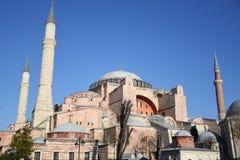 Hagia Sophia Museum Istanbul Turkey Fotografering för Bildbyråer