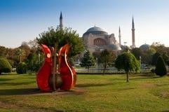 Hagia Sophia Museum in Istanbul, Turkey stock photo
