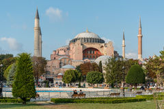 Hagia Sophia Museum in Istanbul, Turkey Royalty Free Stock Photography