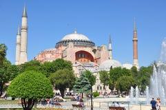 Hagia Sophia, Istanbul. Hagia Sophia museum, Istanbul, Turkey stock photo