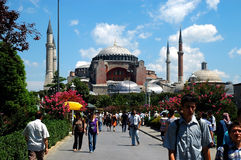 Hagia Sophia Museum, Istanbul, Turkey Stock Image