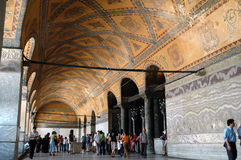 Hagia Sophia Museum, Istanbul, Turkey Royalty Free Stock Photos