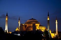 Hagia Sophia Museum på Istanbul, Turkiet Arkivfoto