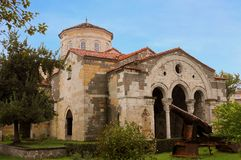 Hagia Sophia Museum Trabzon, north eastern turkey. Hagia Sophia is a museum, formerly Greek Orthodox church which was converted into a mosque in 1584, and stock photo