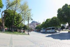 Hagia Sophia Museum, Turchia Fotografie Stock