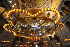 Hagia Sophia muzeum w Istanbuł Obrazy Royalty Free