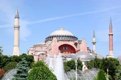 Hagia Sophia op de zomer Royalty-vrije Stock Afbeeldingen
