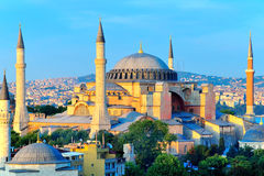 Hagia Sophia Overlooking Bosphorus Stock Photography