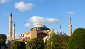 Hagia Sophia podczas Złotej godziny Zdjęcie Royalty Free