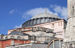 Hagia Sophia - RAW format royalty free stock images