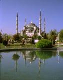 Hagia Sophia reflejado en el lago Fotografía de archivo libre de regalías