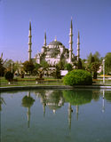 Hagia Sophia refletido no lago Fotografia de Stock Royalty Free