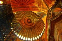 Hagia Sophia restoration Stock Photo