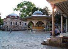 Hagia Sophia's yard Royalty Free Stock Image