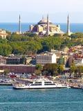 Hagia Sophia. And Sirkeci Port, Istanbul Stock Photos