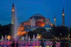 Hagia Sophia (som kallas också Hagia Sofia eller Ayasofya) Arkivfoton