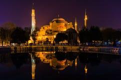 Hagia Sophia (Sophia Mosque), Istanbul, die Türkei stockfoto