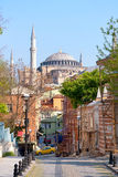 Hagia Sophia Street View Stock Photo