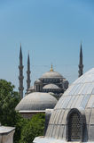 Hagia Sophia and Sultan Ahmet Mosque in Instanbul Royalty Free Stock Images