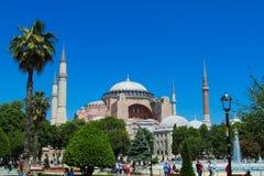 Hagia Sophia in Sultanahmet square, Istanbul, Turkey Stock Photography