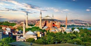 Hagia Sophia in Turkey Royalty Free Stock Photos